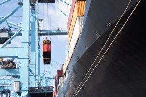 container on terminal