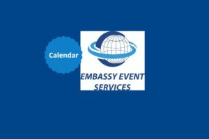 Embassy Event Services Event Calendar